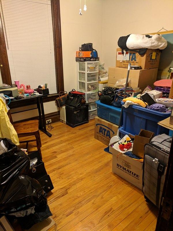 After - back room