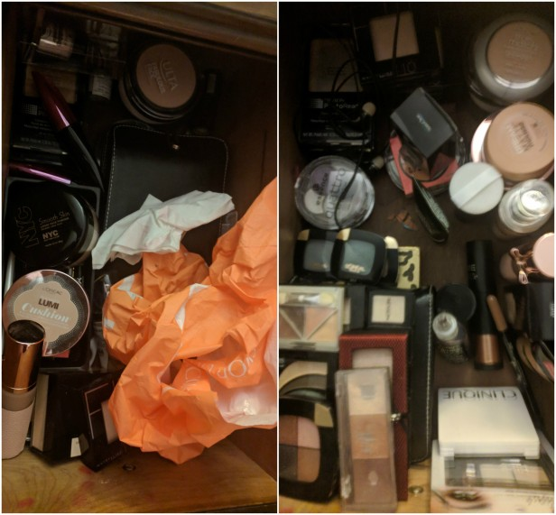 Drawer 1 - before + after