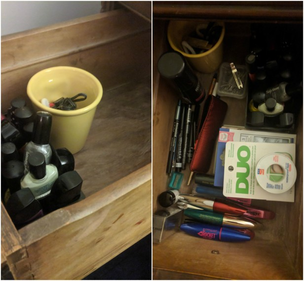 Drawer 2 - before + after